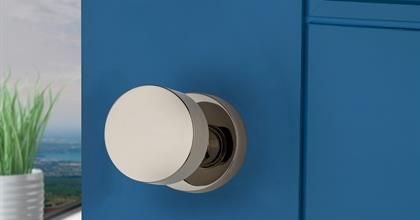 Baldwin Reserve Contemporary Doorknob