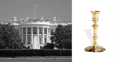 White House Candlestick